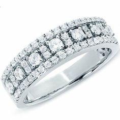 0.75 Carat (ctw) 14k White Gold Round Diamond Ladies Anniversary Wedding Band Ring DazzlingRock Collection, http://www.amazon.com/dp/B009FWPMOS/ref=cm_sw_r_pi_dp_YU9crb1K47YA1
