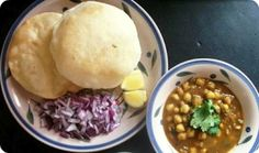 Chhole Bhature is a spicy mouth watering dish which can easily prepared in easily at home as well. Spicy, Dishes, Canning, Breakfast, Recipes, Food, Morning Coffee, Tablewares, Essen