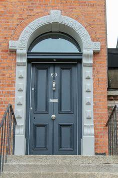 Timber Doors Black front door