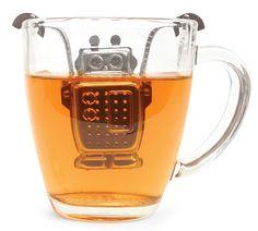 robot tea infuser...too cute