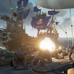 Sea Of Thieves Community Grows To Over Players; New Content Update 'Cursed Sails' Available Now Sea Of Thieves, Pirate Life, Cool Artwork, Memes, Disney, Sailing, Community, Fantasy, Content