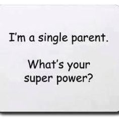 This is my super power...