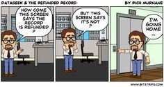 #DataGeek & The Refunded Record