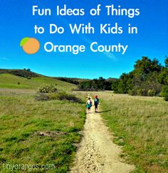 I thought it might be fun to share some fun ideas of things to do with kids in Orange County. I love being a parent in Orange County because there are truly just so many fun things to do with kids here. Over the past 7 years we have blogged about a lot of fun ideas, so I thought it would be fun to do a summary of some of my favorite posts on this topic. I hope it might inspire some new ...