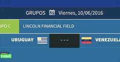 Para todos los Venezolanos en España este próximo viernes a las 01:30 vuelve a jugar la vinotinto... contra la fuerte selección de Uruguay.