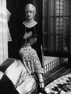 Rare Vintage: An Unconventional Beauty: Natacha Rambova in Fortuny