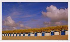 Little beach houses, Texel, Holland