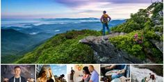 50 Things to do in Asheville, NC.Sweeping mountain views, great food, and lively music create the vibe in Asheville Asheville Camping, Visit Asheville, Asheville North Carolina, South Carolina, Asheville Things To Do, Cabin Activities, Ashville Nc, Mountain Vacations, Family Vacations