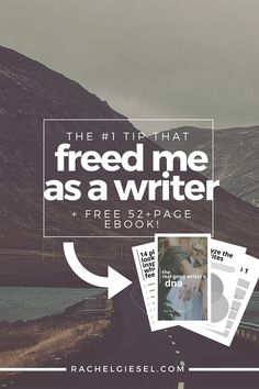 The #1 Tip That Freed Me As A Writer | If you want to get to Real Good Writing, you first have to know who you are, what you're writing, and why you're writing it. Learn how thinking about the writer's DNA opened doors for writing.