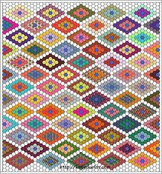 Diseños a base de hexágonos | Aprender manualidades es facilisimo.com