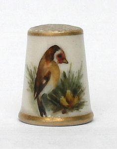 antique thimbles, porcelain thimbles. enamel thimbles
