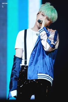 Yoongi in suspenders AND looking like that... holy mother of gawd.