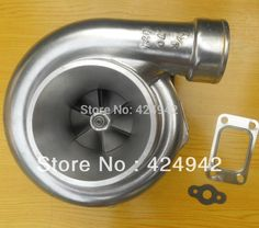 """GT35 GT3582R compressor A/R .70  A/R .82 T3 flange oil and water 3.5"""" v-band 400-550HP turbocharger turbo  Dual ball bearing"""