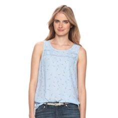 youu0027ll love the casual and feminine style of this womenu0027s tank top from lc lauren conrad