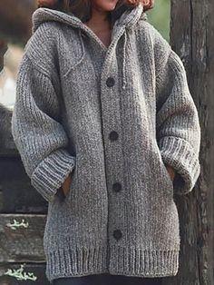 COOKI Womens Fleece Jacket Pullover Hoodie Fleece Sweatshirt Button Pocket Coat Leopard Print Warm Winter Oversized Outwear