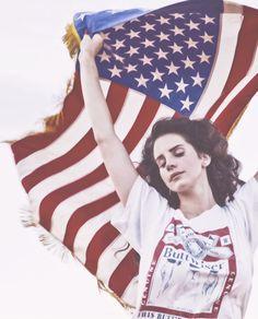 I fall asleep in the american flag