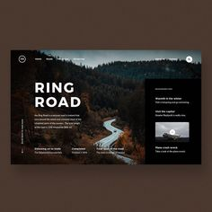 Design Board One ( Web Ui Design, Page Design, Web Layout, Layout Design, Pag Web, Travel Website Design, Website Design Inspiration, User Interface Design, Grafik Design