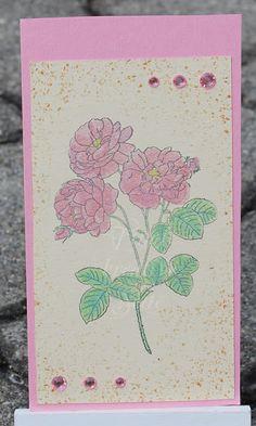 Tinas kreative Seite - 2 tags: Blumengrüße