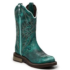 """Justin Women's 12"""" Pull-On Western Boots"""