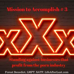 Mission to Accomplish #3 from Life After Lust