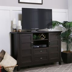Our rustic chic TV stand http://amzn.to/2hYzs4a