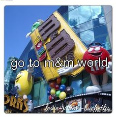 Go To M & M World - In Las Vegas 2014