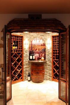 Wine Cellar http://www.squidoo.com/reading-wine-bottle-labels