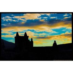 Sunset at Sweetheart Abbey