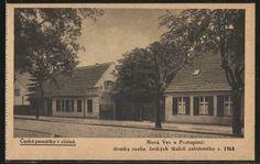AK Berlin-Neukölln, böhmische Weber-Zunfthäuser in der Richardstrasse