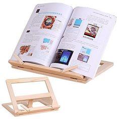 Wooden Reading Rest Adjustable Book Holder Display Stand