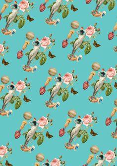 Um pattern pra regente Vênus Screenprinting, Surface Pattern Design, Collages, Wallpapers, Graphics, Iphone, Illustration, People, Woman Art