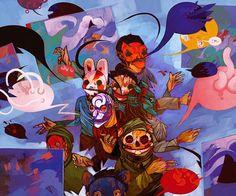 Fantasy Illustrations by Emmanuel Malin