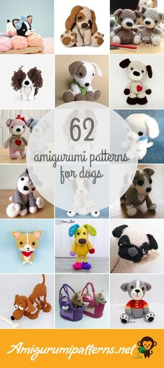 Amigurumipatterns.net has the largest collection of free and premium Dogs amigurumi patterns. Click now and discover wonderful crochet patterns! Page 3 of results.