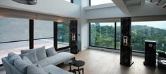 This Steinway Lyngdorf Model D installation, in an elegant tree-top home, won the Gold Award for Taiwan Best Building Design http://steinwaylyngdorf.com/showcases/stereo/model-d-co-stars-with-incredible-view-in-taiwan-home