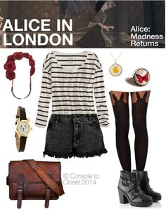 Inspired by Alice's London Dress from Alice: Madness Returns (via Console to Closet) #Gaming #GamingFashion