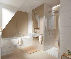 Attic Bathroom, Upstairs Bathrooms, Beach Bathrooms, Modern Bathroom, Attic Renovation, Attic Remodel, Basement Renovations, Attic Doors, Attic Window