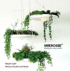 ikea Hängenden Gärten von Babylon Pflanzen lampe töpfe Topfpflanzen nordic tom kreative weiß leuchter ohne Pflanzen und Blumen(China (Mainland))