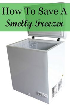 How to save a smelly freezer: It really smelled like something died in it. I have cleaned, bleached, Lysol-ed and baking soda-ed, all to no avail. It sat open and unplugged for a couple of weeks to air out. I'm afraid the odor will attach itself to any new food I put in.