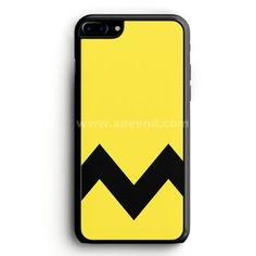 Charlie Brown Yellow Black Chevron iPhone 7 Plus Case | aneend