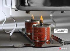 Combustibil Lichid pentru Chafing Dish 'Blaze'  ' Blaze L-B300' conserva cu fitil, derivat din dietilen glicol,  Timp de ardere ± 5.5 ore per conserva , arde fara funingine si fara miros, unitate de comanda  48 bucati,  198 g Combustibil Lichid Chafing Dish- Conserva cu Fitil  Conserva nu se incinge- nu e nevoie de un suport special Se poate folosi de mai multe ori acceasi conserva de combustibil lichid chafing dish Combustibil Lichid Chafing Dish Blaze- durata foarte mare de ardere 5.5ore Chafing Dishes