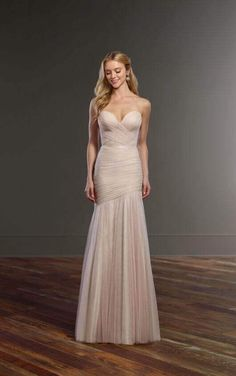 Casey + Sidney Bodycon Corset Wedding Dress Separates by Martina Liana