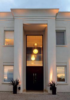 House Balcony Design, House Outside Design, Village House Design, House Gate Design, House Front Design, Facade Design, Exterior Design, Wall Design, Home Interior Design