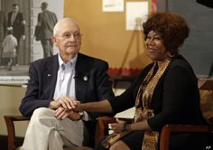 Civil rights icon Ruby Bridges, who as a 6-year-old helped end public school segregation in the South, was reunited Thursday with one of the federal marshals who had escorted her past angry crowds so she could attend a previously all-white school. Bridges, who in 1960 became the first black child to attend an all-white school in New Orleans, met with Charles Burks at The Children's Museum of ...