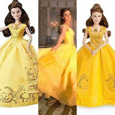 Who looks more like Emma ? Hasbro or Disney store ?  #lumiere #dollcollector #disneyprincesses #belle #dollcollection #dfdc #limitededitiondisneydoll #disneylego #paigeohara #disneydolls  #dolllover #tockins #labellaelabestia #beast #bellaybestia  #beautyandthebeastlive #disneystore #disneycollector  #gaston #animatorsdoll#disneydolls #disney #hasbro #doll #disneystore #disneycollector #dolllover #beautyandthebeastliveaction #batbla #labatb #emmawatson #batb2017 #beautyandthebeast2017