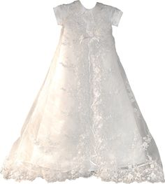 Christening gown from your wedding dress.