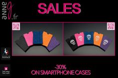 """SALES !!!  -30 % on all accessories, jewels and T-shirts for women !  °Smartphone Cases Leather and strass : www.anneg.fr/en/petshop/accessories-dog-cat-women/accessories-women-smartphone-case-leather  °Smartphone Cases """"Skull"""" : www.anneg.fr/en/petshop/accessories-dog-cat-women/accessories-women-smartphone-case-skull (Kid leather and strass #swarovskielements ) Limited stocks !  #women #woman #womansfashion #fashion #mode #swarovski  #swarovskijewelry  #swarovskicrystals #madeinfrance…"""