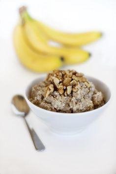13. Banana Bread Breakfast Quinoa #healthy #quinoa #recipes http://greatist.com/eat/breakfast-quinoa-recipes