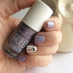 Check it out. Seashell Nails, Avon Care, Last Minute Gifts, Nail Stickers, Makeup Revolution, Pink Purple, Nail Polish, Dots, Make It Yourself