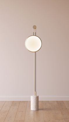 Indirect light metal floor lamp SOLEDAD by ROCHE BOBOIS | design Elsa Pochat, Elí Séval-Hernàandez