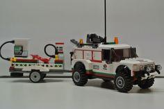 LEGO Ideas - Service Truck & Trailer